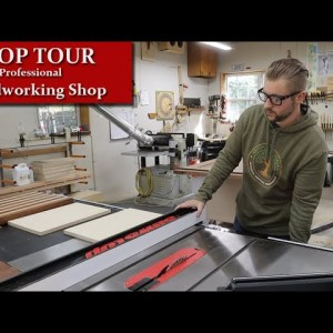 Shop Tour - Work Flow in a Professional Woodworking Shop