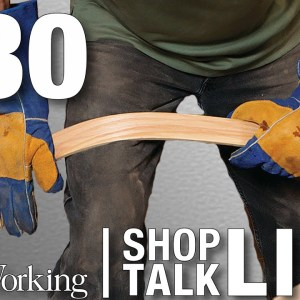 STL230: Bending wood with your bare hands