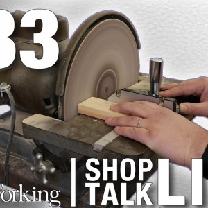 STL233: The power of the disc sander