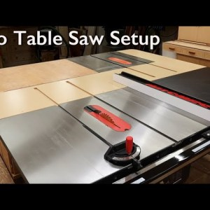 Two Table Saws - Ultimate Woodworking Setup