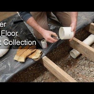 Under The Floor Woodworking Dust Collection System