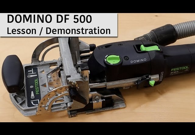 Understanding the Festool Domino DF 500 Demonstration & Overview