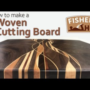 Woodworking: How to Make a Woven Cutting Board