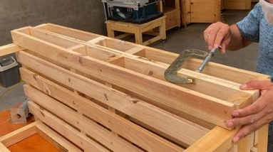Creative Recycling Ideas For Used Wooden Pallets // Smart Chair From Pallet That You Will Love