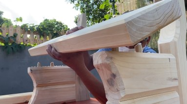 Easy And Inspirational Woodworking Ideas // Build A Bench That Everyone Wants To Own