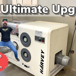 Ultimate Woodshop Upgrade || Installing My New Dust Collector