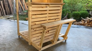 Best Ideas For Wood Pallets Reusing | Awesome Wooden Pallet Bars For Your Inspiration - Pallet Bar