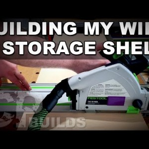 Building My Wife A Storage Shelf For Her Classroom | As Well As Some RAB Tools DomStop500 Action