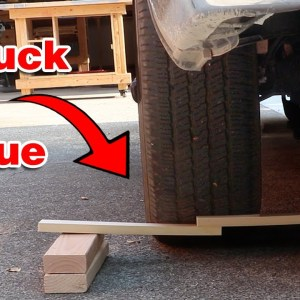 Is wood glue stronger than my truck? #shorts