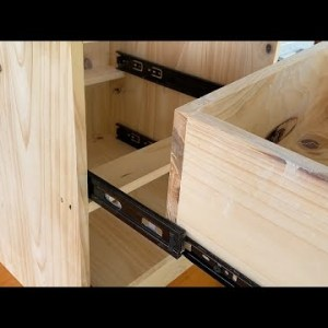 Surprisingly Simple Woodworking Projects // DIY Nightstand Ideas For Creative And Inspired Beginners
