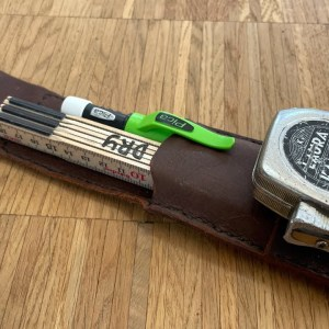 Quick and Easy Measure & Marking Holster (I should have done this years ago)