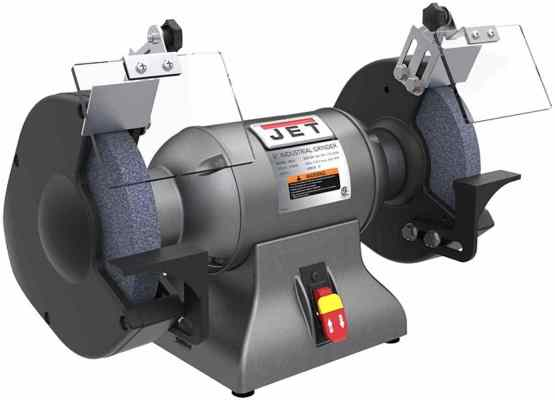 Jet 578008 1 hp 8 Heavy Duty Bench Buffer and Grinder
