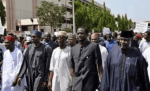 Throwback Photo Of Buhari, Oyegun, Others Protesting Against INEC