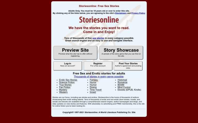 Storiesonline - Best  List