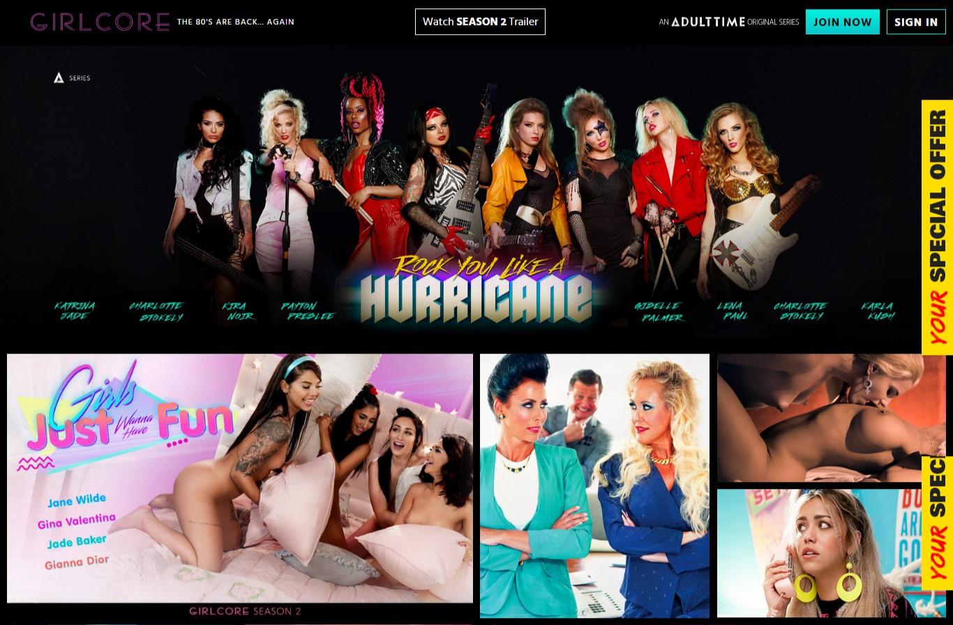 Girlcore - Best Premium Lesbian XXX sites