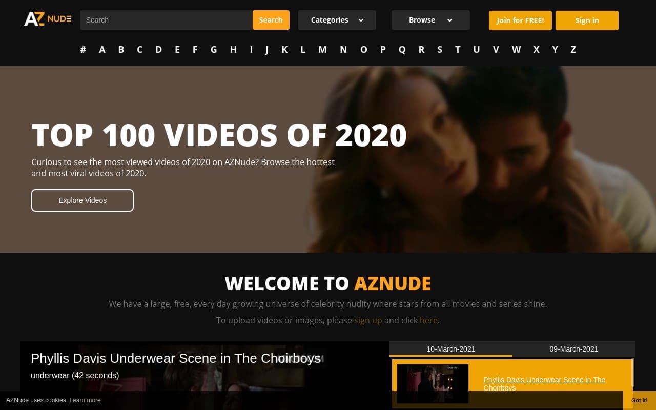 Aznude -  List