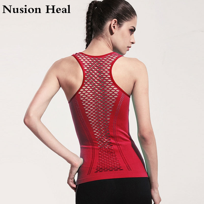 Women/'s Gym Vest Muscles