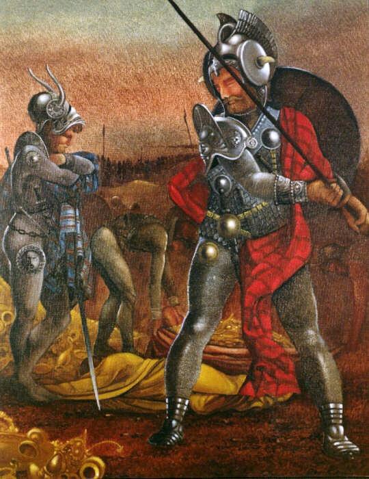 Krieger von Atlantis.