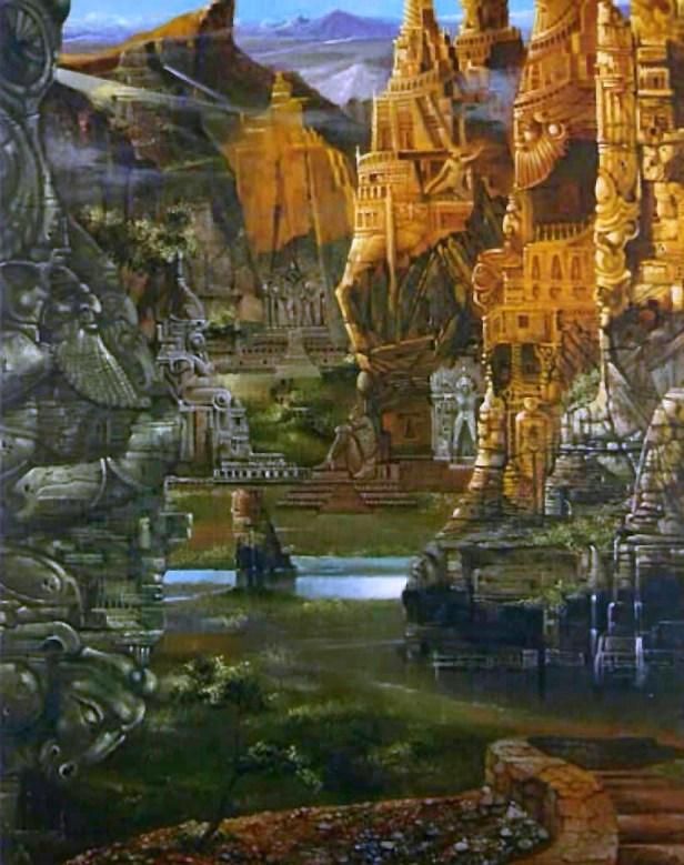 Atlantis Stadt Necropolis
