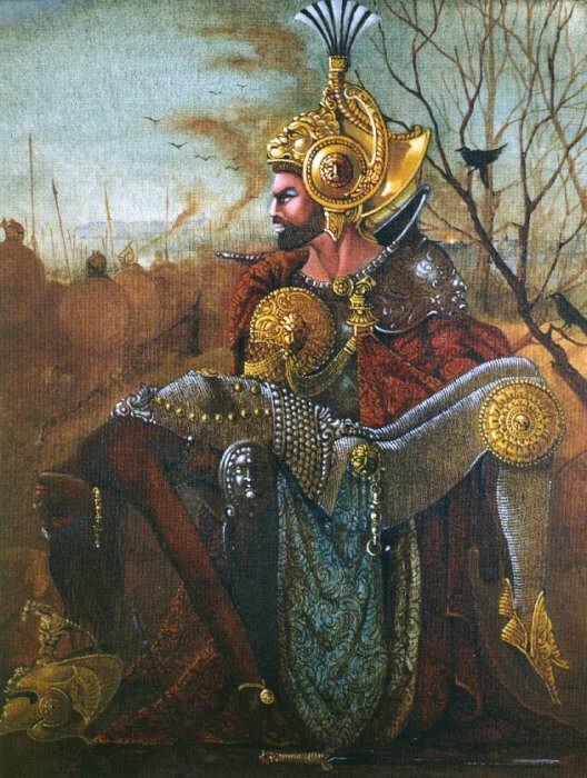 Orhuarpa mit Königin Ketabel