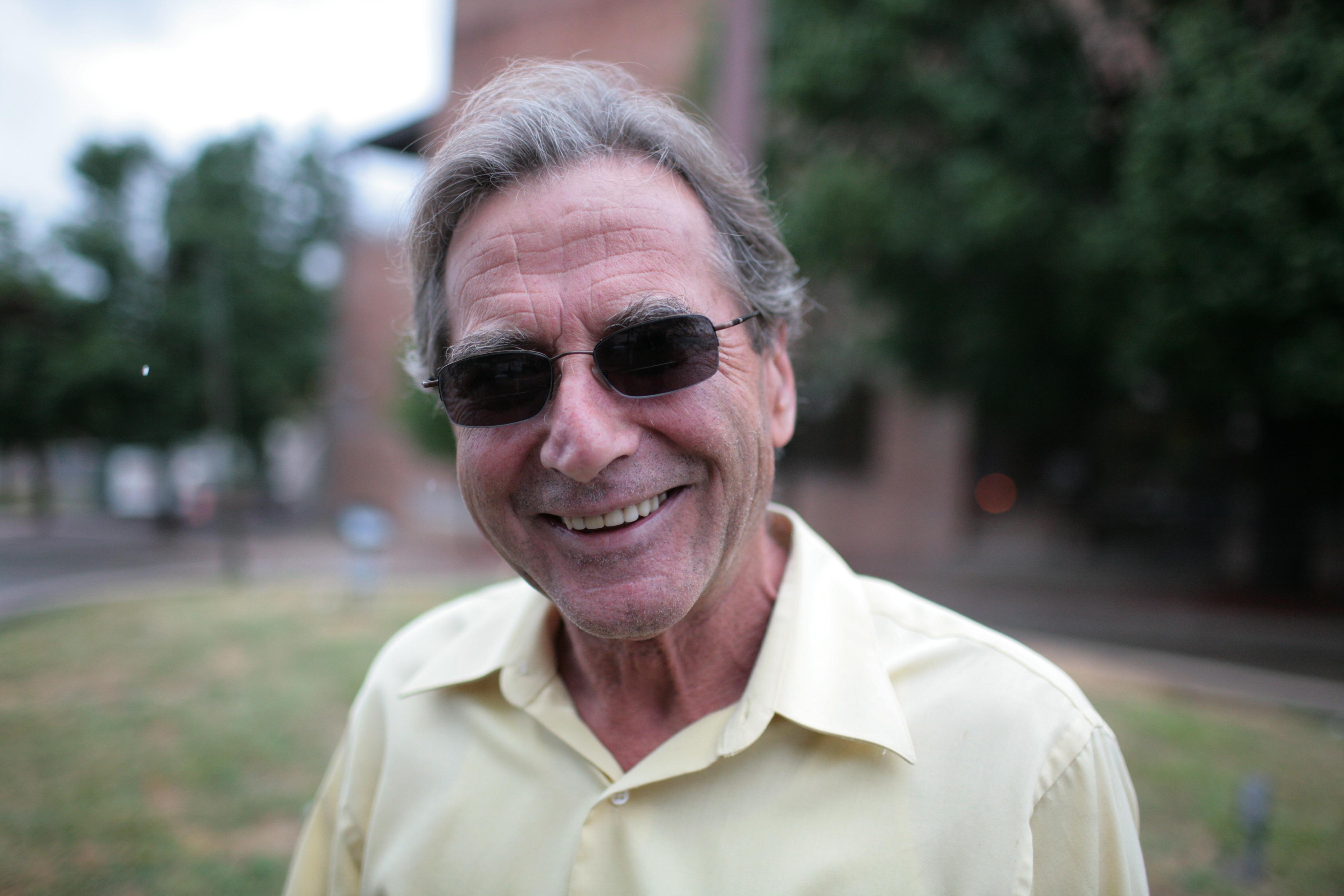 Mike Schmidt, born in Frankfurt, moved to Omaha in 1962