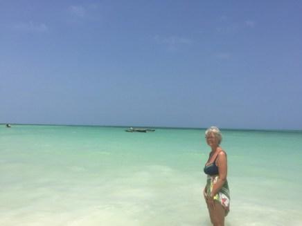 Godt med sol, sjø og varme