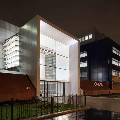 bâtiment L'Oréal Paris - projet restructuration - Clichy - lots CVC désenfumage plomberie