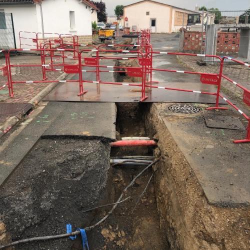 afpa Albi , chantier chaudière