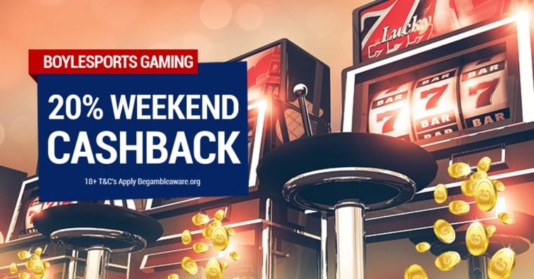 BoyleSports Games Weekend Cashback