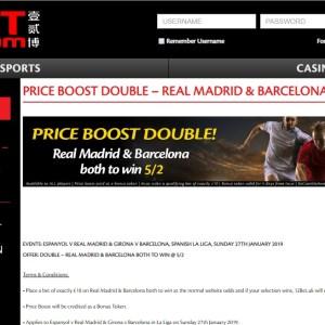 La Liga Enhanced Odds Offer 12Bet