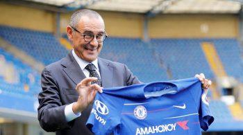 Maurizzio Sarri Chelsea FC manager