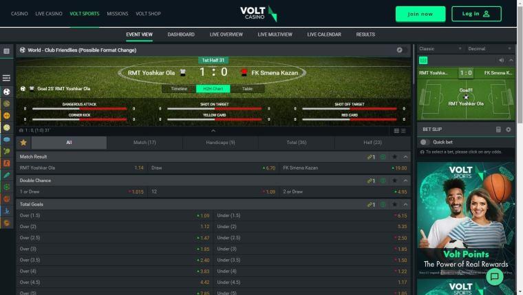 Volt Sports Review