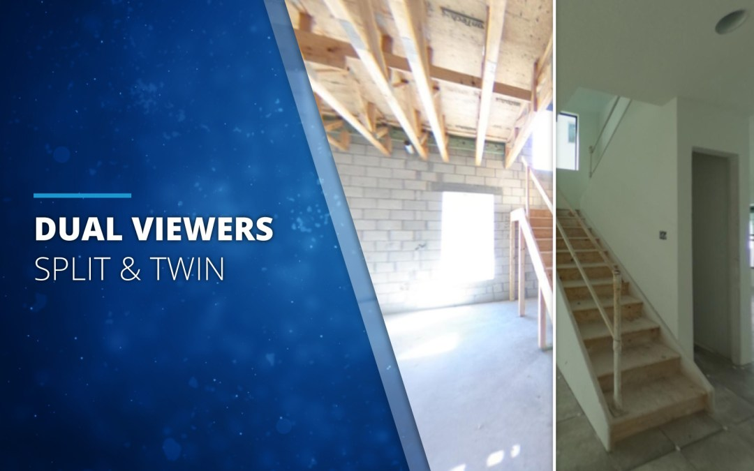 """Dual Viewers – """"Before & After"""" Panoramas"""