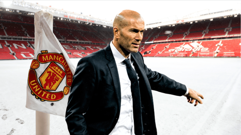 Zinedine Zidane Favourite To Become The Next Manchester United Manager