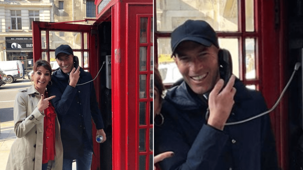 Zinedine Zidane Pictured Taking Phone Call In London, Thousands Of Man Utd Fans React
