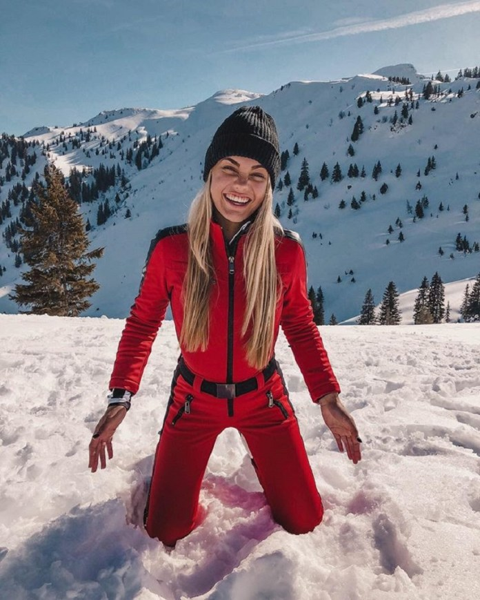 Lotte van der Zee was on holiday in Austria when she became ill. Credit: Instagram