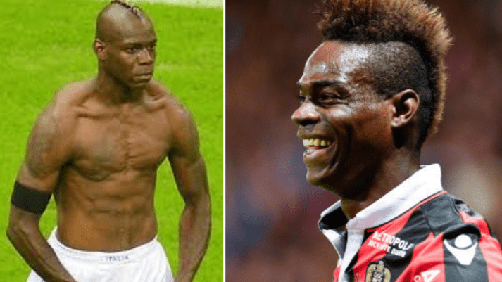 Mario Balotelli Hilariously Responds To Reports He Was Fined For Returning To Nice Overweight