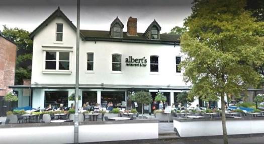 Alberts Restaurant.  Kredit: Frist Nachrichten