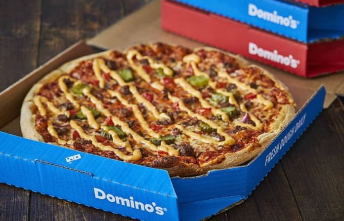 You can get a Domino Price of $ 25 for the low price of £ 3.75. Credit: Domino