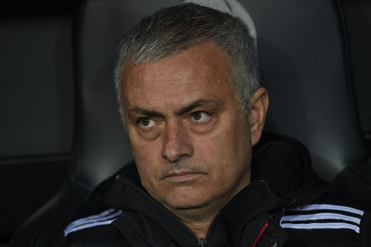 Mourinho might not be happy now but he would be with £24 million. Image: PA Images