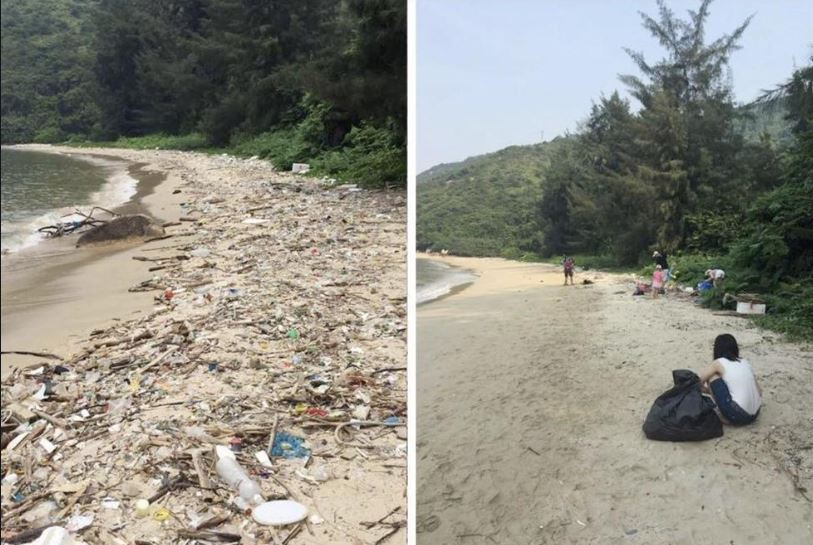 This is one of the examples where the poster used #trashtag. Credit: Reddit