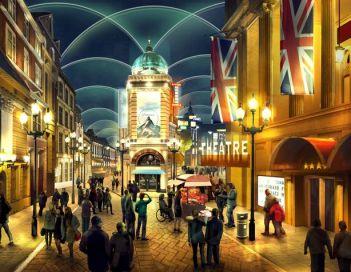 """O London Resort promete """"experiências inspiradoras"""". Crédito: The London Resort"""