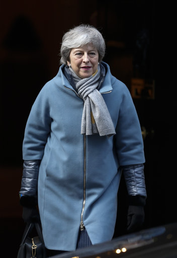 Prime Minister Theresa May leaves 10 Downing Street for the House of Commons. Credit: PA