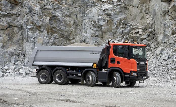 Scania G 450 XT 8x4, Tipper,