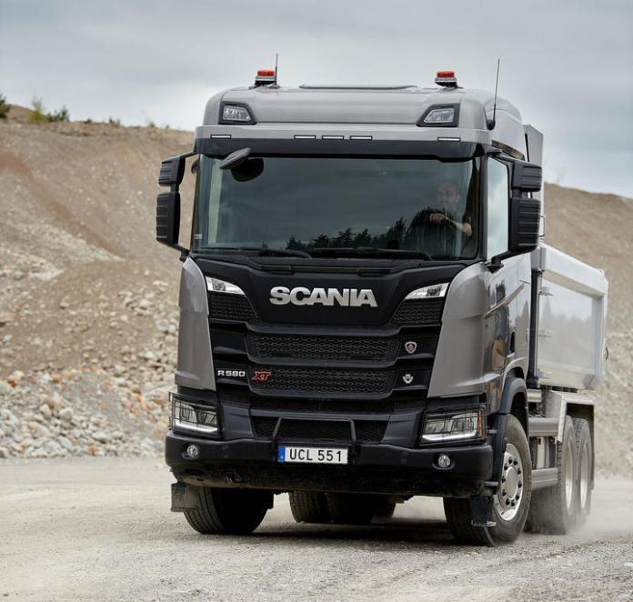 Scania R 580 XT V8 6x4, Tipper,