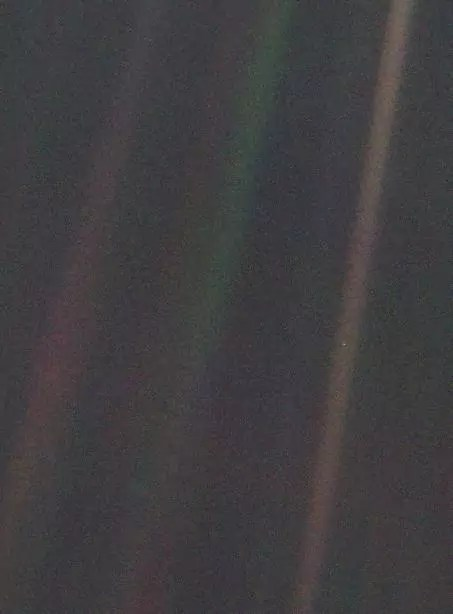 Pale Blue Dot photo voyager