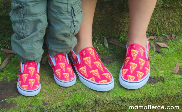 Vans Pizza Shoes