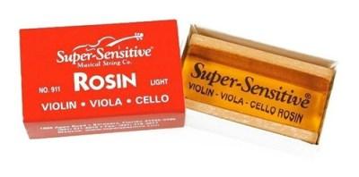 BREA P/ VIOLIN VIOLA CHELO ROSIN LIGHT SUPER SENSITIVE