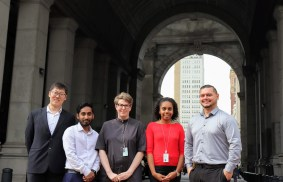 Handful of the Civic Innovation Fellows 2019