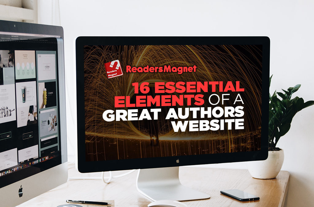 16 Essential Elements of a Great Author Website